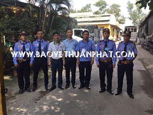 Triển khai bảo vệ nhà máy nhựa Bình Thuận