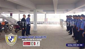 An ninh tối ưu với dịch vụ bảo vệ công trình xây dựng Thuận Phát