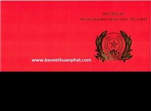 Chứng chỉ nghiệp vụ bảo vệ của nhân viên tại công ty Thuận Phát