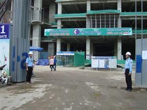 Công tác bảo vệ dự án công trình xây dựng, công trường xây dựng, dự án xây dựng