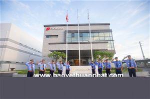 Triển khai công tác bảo vệ nhà máy Dorco Living Vina tại KCN Hòa Mạc, huyện Duy Tiên, tỉnh Hà Nam