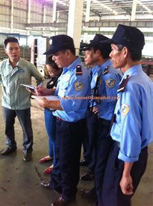 Triển khai công tác bảo vệ tại nhà máy Nam Thành Group