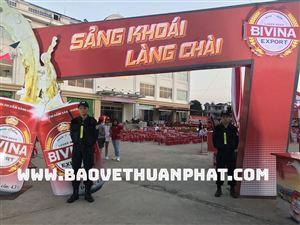 Dịch vụ bảo vệ sự kiện, lễ hội chuyên nghiệp tại Hà Nội