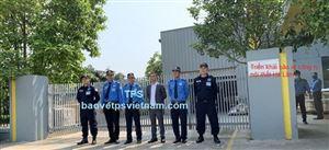 Triển khai bảo vệ tại công ty Hà Lâm giữa thời điểm dịch Covid 19