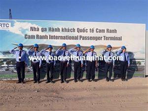 Triển khai công tác bảo vệ Nhà ga Hành khách Quốc tế Cam Ranh