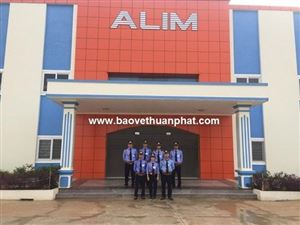 Triển khai công tác bảo vệ nhà máy Alim Global tại huyện Thanh Thủy, tỉnh Phú Thọ