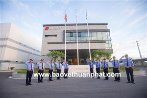 Triển khai công tác bảo vệ nhà máy Dorco Living Vina tại KCN Hòa Mạc, Duy Tiên, Hà Nam