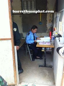 Triển khai bảo vệ công trình xây dựng công ty 36.55 Bộ Quốc Phòng tại 123 phố Lò Đúc, Hà Nội