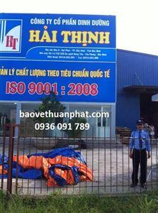 Thuận Phát triển khai dịch vụ bảo vệ tại nhà máy sản xuất thức ăn chăn nuôi Hải Thịnh