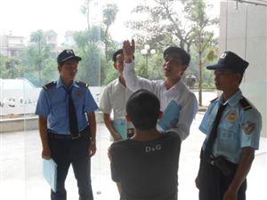 Triển khai bảo vệ Tòa nhà CT3, Lê Đức Thọ, Hà Nội
