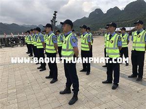 Những trang thiết bị mà Thuận Phát trang bị cho nhân viên bảo vệ