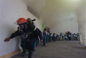Các kỹ năng thoát khỏi đám cháy được chia sẻ từ Bảo vệ Thuận Phát