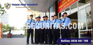 Dịch vụ bảo vệ ngân hàng của Công ty bảo vệ Thuận Phát