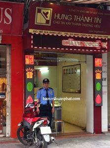 Thuận Phát triển khai bảo vệ cửa hàng vàng bạc Hưng Thành Tín