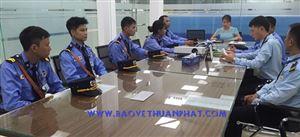 Thuận Phát  triển khai dịch vụ bảo vệ Công ty Dorco Living Hà Nam