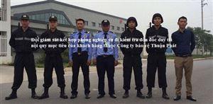 Thuận Phát triển khai bảo vệ CCN - TTCN Bình Lục, Hà Nam