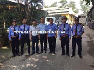 Bảo vệ Thuận Phát triển khai dự án bảo vệ Công ty Xây dựng Việt Nam