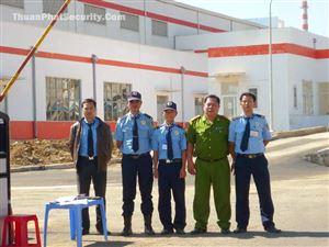 Công ty dịch vụ bảo vệ công trình xây dựng